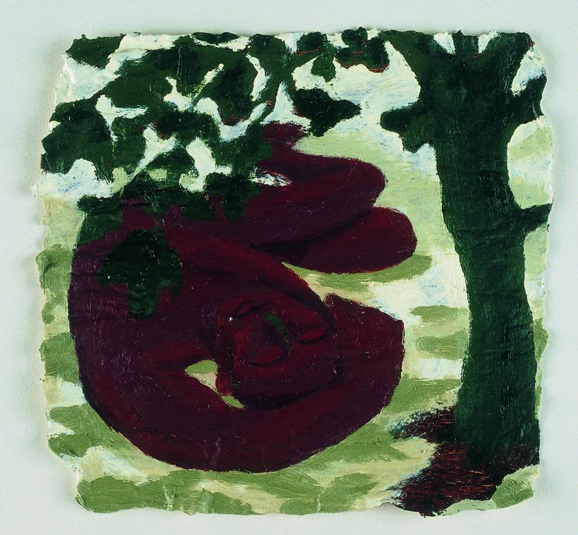 Nathaniel (asleep under the fig tree)